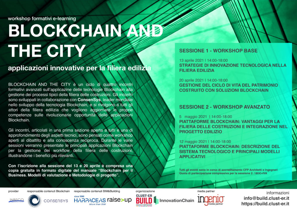 BLOCKCHAIN AND THE CITY